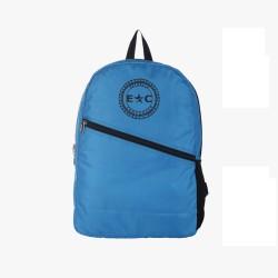 Blue Polyester Backpack