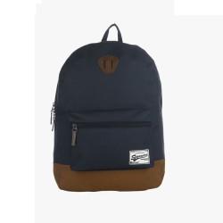 Navy Blue Polyester Bag