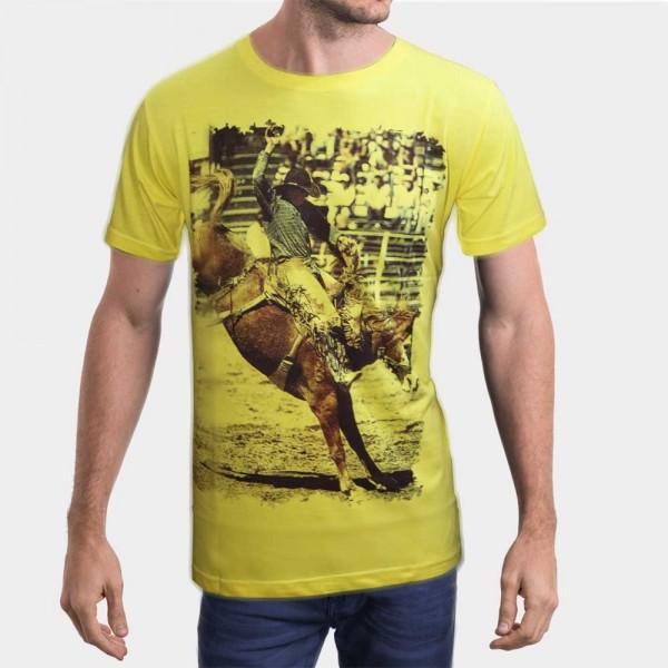 Light Yellow Printed Tshirt