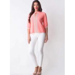 Pink Georgette Designer Top